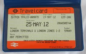 travel card London transport