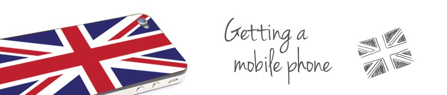 Getting a mobile phone service in London