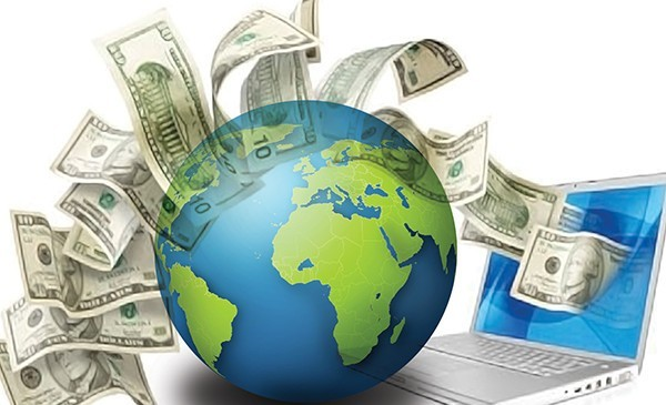 trasnferring money internationally