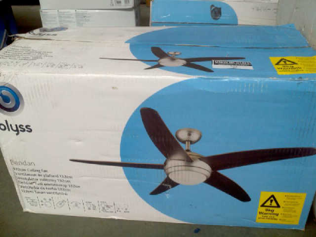 Blyss bendan 132cm ceiling fan rrp 9998 lot 36 mozeypictures Gallery