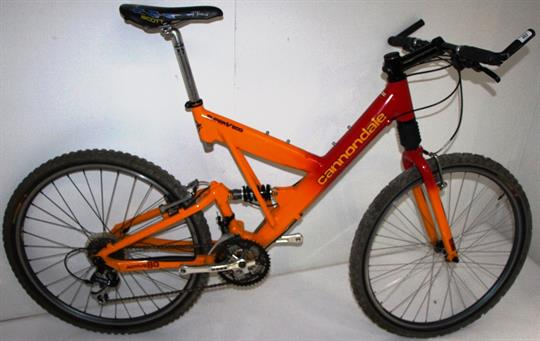 Cannondale Super V600 19 189 Quot 24 Speed Full Suspension