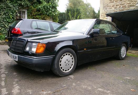 1988 Mercedes-Benz 300CE Saloon Registration: E540 NUW