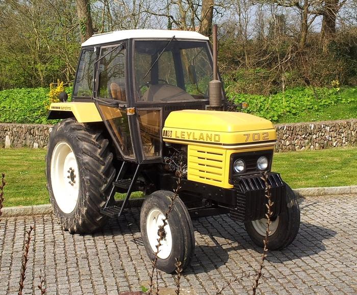 1983 Leyland 702 Diesel Tractor Reg  No  Ltc 479 Described
