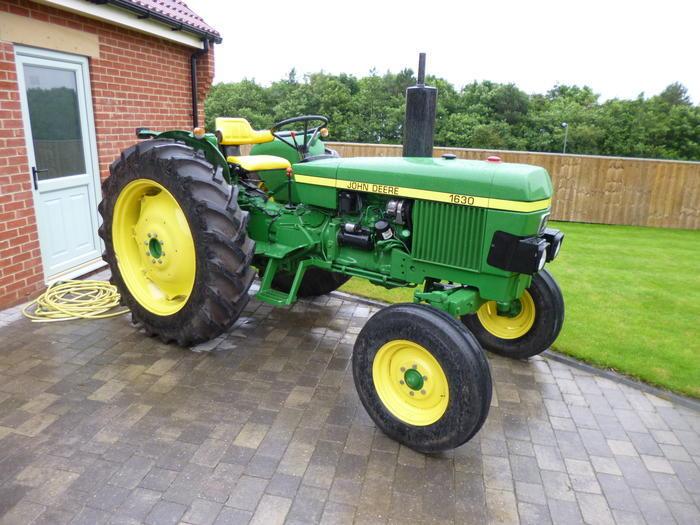 John Deere 1630 : John deere cylinder diesel tractor reg no arm