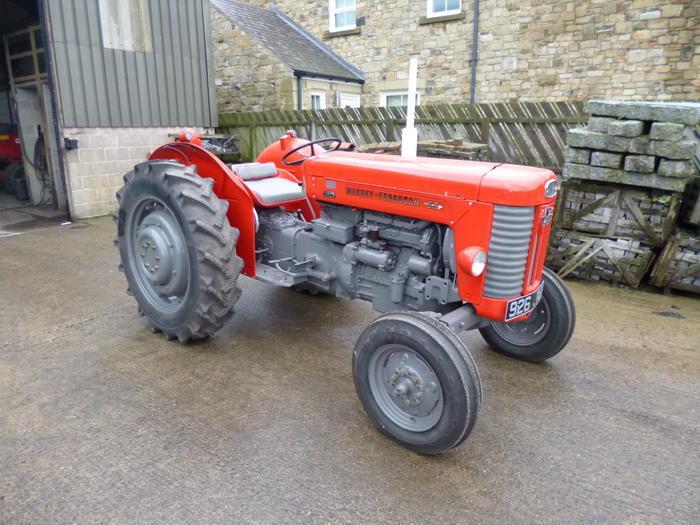 1964 Massey Ferguson 65 : Massey ferguson mk ii cylinder diesel tractor reg