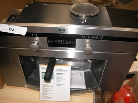 Aeg Electrolux Built In Coffee Machine Stainless Steel