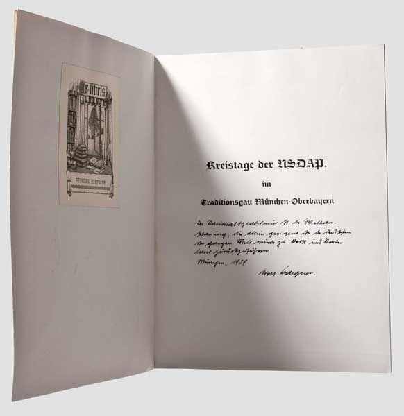 Auktionslos 6114 - Hermine Hoffmann (1857 - 1945), Lindenallee 26 in Solln, Munich, was the widow of an