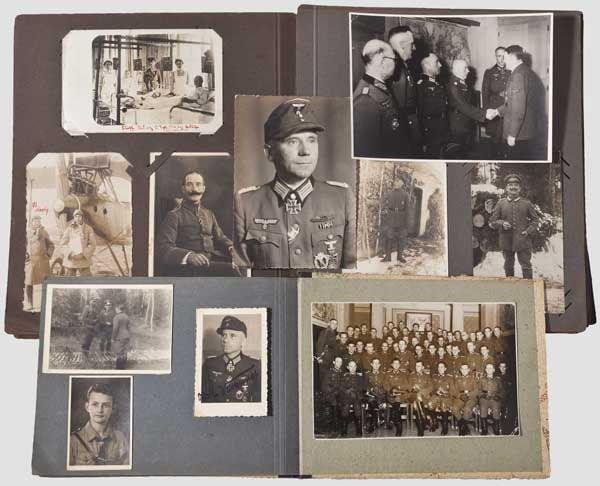 Oberst Adolf Weitkunat - persönlicher Fotonachlass des Eichenlaubträgers und Kommandeurs des Kampf-