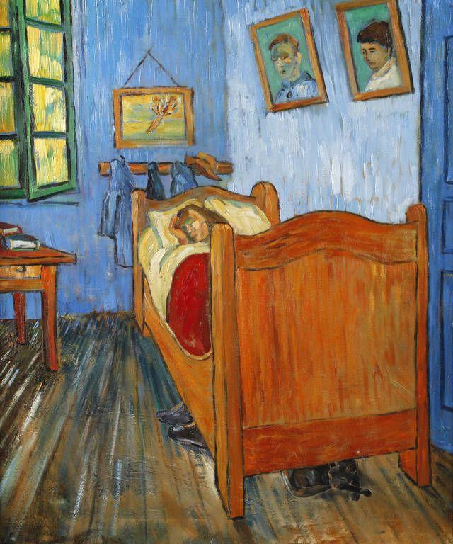 vincents schlafzimmer in arles - vincent van gogh als kunstdruck ... - Schlafzimmer In Arles