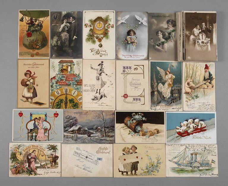 Postkarten Neujahrswünsche
