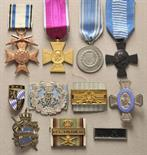 Bavaria  Lot of 17 decorations.  Various, mostly on ribbon.  Condition: II    Starting price: 200