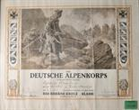 Prussia  Iron Cross, 1914, 2. class document for the Canonier Max Saiez in the Alpenkorps.