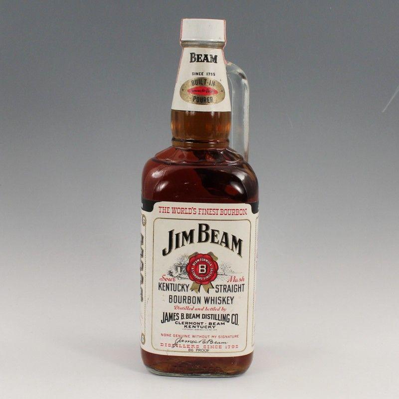 whisky jim beam bourbon gekauft vor ca 30 jahren 86. Black Bedroom Furniture Sets. Home Design Ideas