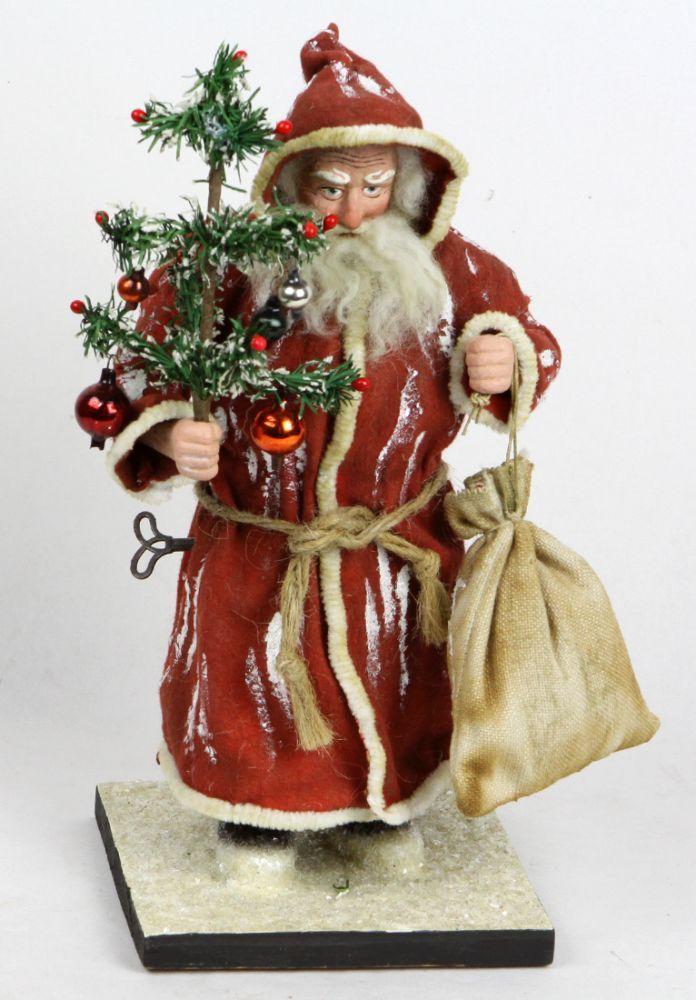 Weihnachtsmann Kopfnicker Weihnachtsmann Kopfnicker aus Masse, fein ...