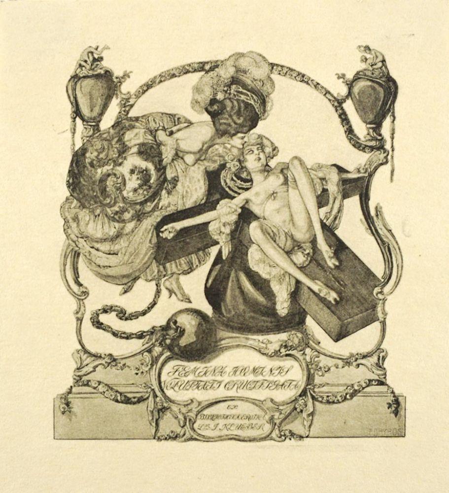 Ex Bibliotheca Erotica Dr. J. Klueber. Femina Hominis Voluptati ...