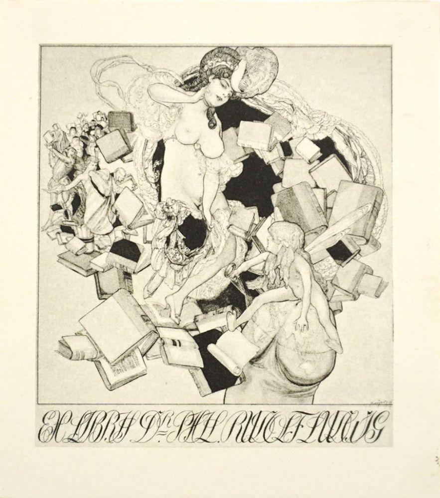Ex Libris Dr. Phil. Rudolf Ludwig.\