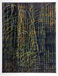 Max Ernst. Geheimnis der Liebe. Farblithographie. 1971. 63,9 : 49,9 cm (78,4 : 64,0 cm). Signiert.