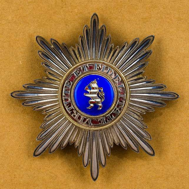 Orden & Ehrenzeichen Deutschland - KURFÜRSTENTUM HESSEN - KASSEL : Order of the Golden Lion, Grand