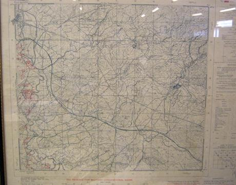 A usa army world war ii map of italy cassino secret sheet 160ii a usa army world war ii map of italy cassino secret sheet 160ii ne pub by engineer 5th us gumiabroncs Choice Image