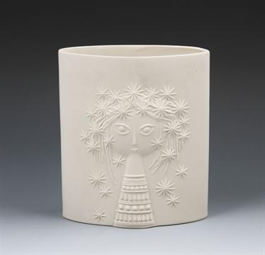 A Hornsea Pottery Aphrodite Vase By John Clappison Designed 1961