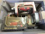 Various boxed and unboxed models, Burago, Corgi etc
