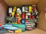 Various matchbox and other die cast models
