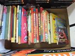 Various annuals and volumes including three Dandy and Beano books 1950's and Noddy, Rupert, Sooty