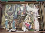 A quantity of Pollocks theatre card cutouts (people, scenes, etc)