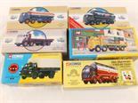 Six boxed Corgi classics lorries, Foden tanker, Erf cylindrical tanker, Bedford general purpose