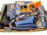 Various Hornby Dublo and Hornby track, accessories and Graham Farish loco and trucks and