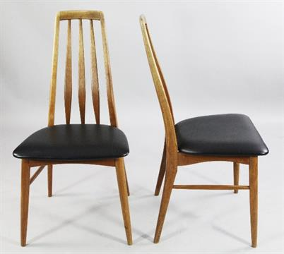 Miraculous Niels Koefoed A Set Of Four Eva Danish Teak Dining Chairs Gmtry Best Dining Table And Chair Ideas Images Gmtryco