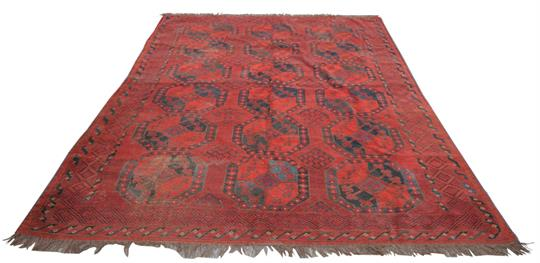 Teppich Wiesbaden a pattern carpet with a retail label mottenecht dapper