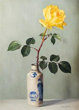 James Noble (1919-1989) - Oil painting - Still life - Chinese vase on pablo picasso flower paintings, flowers art paintings, beach scene paintings, flowers in glass paintings, flowers in spring paintings, flowers in teapot, white flower paintings, roses paintings, textured flower paintings, lily paintings, vases with flowers still life paintings, flowers in pot paintings, flowers in architecture, flowers in a basket paintings, bouquet of flowers paintings, chair paintings, orchids paintings, floral paintings, flowers at night paintings, flowers in garden paintings,