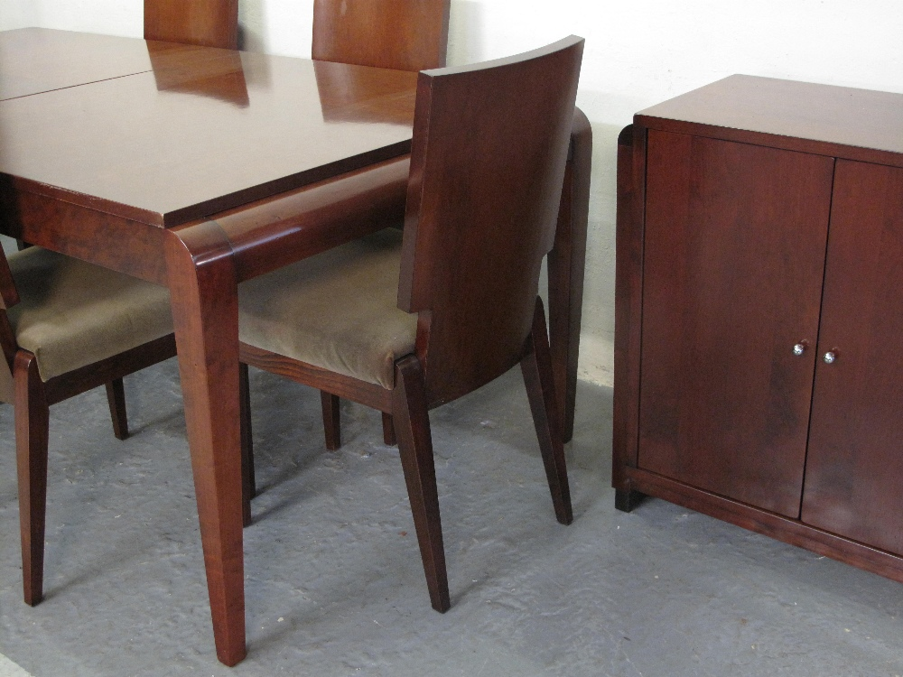 A GRANGE FURNITURE MADE FOR HARRODS CHERRY WOOD FRENCH LINE ART