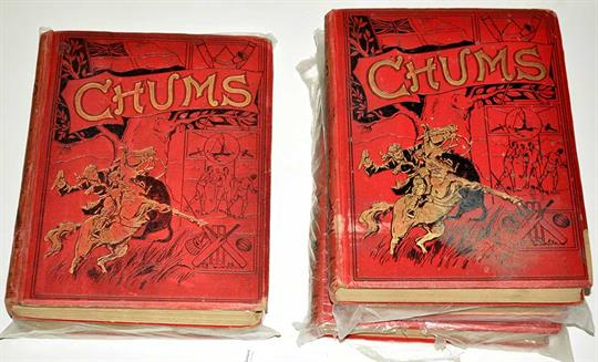 Chums Annual for years 1902, 1903, 1904, 1905 and 193637. (5)