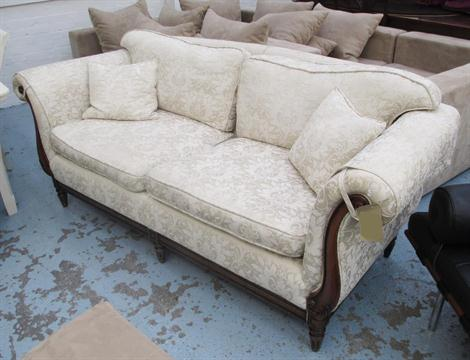 Sofa Two Seater By Medallion Mendelssohn In Cream With