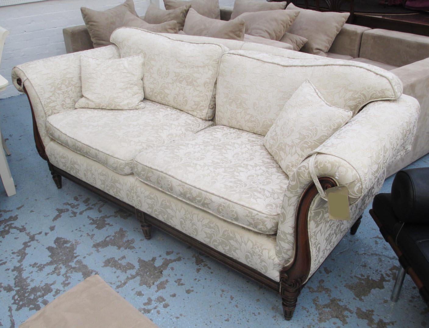 Lot 129   SOFA, Two Seater, By Medallion