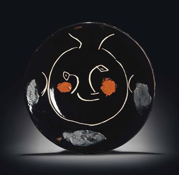 b174463d7d4 Pablo Picasso (1881-1973) Service visage noir (A.R. 44) stamped and ...