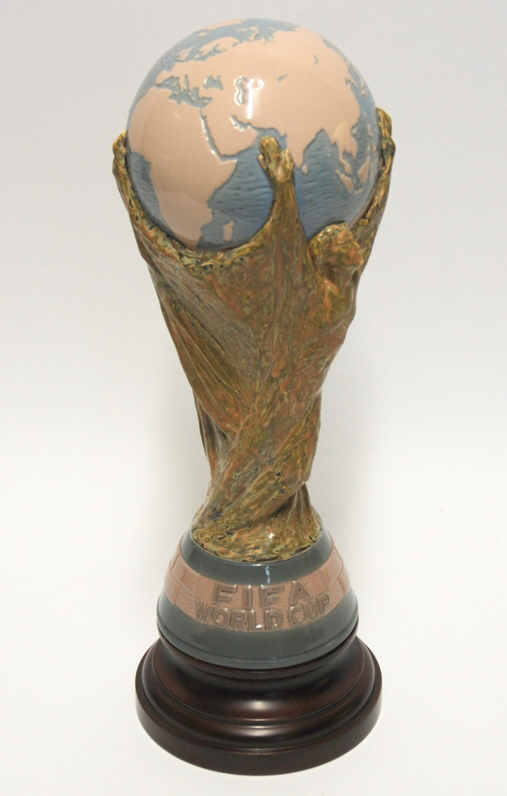 Lot 256 - A Lladro World Cup the base inscribed FIFA World Cup, with printed and impressed factory marks,