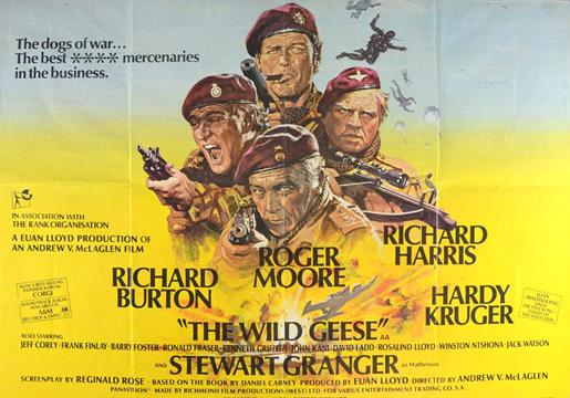 Image result for The Wild Geese poster