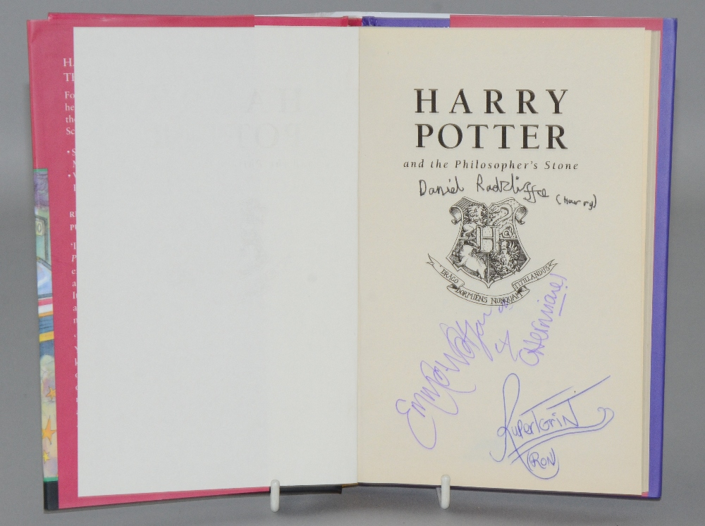 Harry Potter And The Philosopher S Stone Hardback First