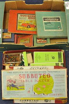Early Subbuteo game, Touring England and Scotland board game