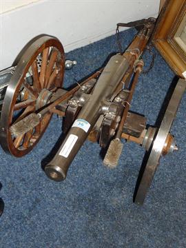 Napoleon III replica black powder cannon by Connecticut Valley Arms