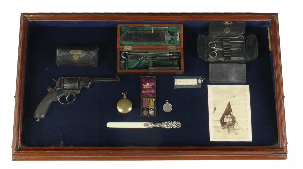 Lot 1375 - THE HIGHLY IMPORTANT GROUP OF PERSONAL EFFECTS OF SURGEON J H REYNOLDS, VC OF RORKE`S DRIFT FAME