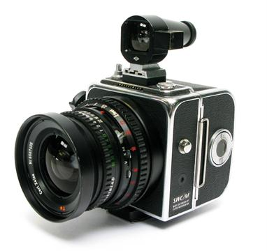 A Hasselblad SWC/M Camera, chrome, serial no  RV144077, with