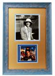 Lot 957 - Music Memorabilia: Michael Jackson, professionally framed & glazed original black & white promo