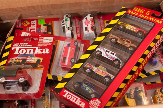 Tonka Diecast Collection, 60+ vehicles including 1949 Dump