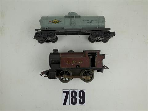 Hornby and Lionel O Gauge : Hornby Type 101 LMS maroon