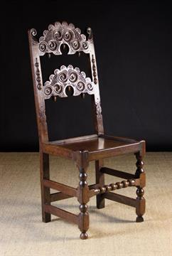 Excellent A Good 17Th Century Carved Oak Derbyshire Chair The Squirreltailoven Fun Painted Chair Ideas Images Squirreltailovenorg