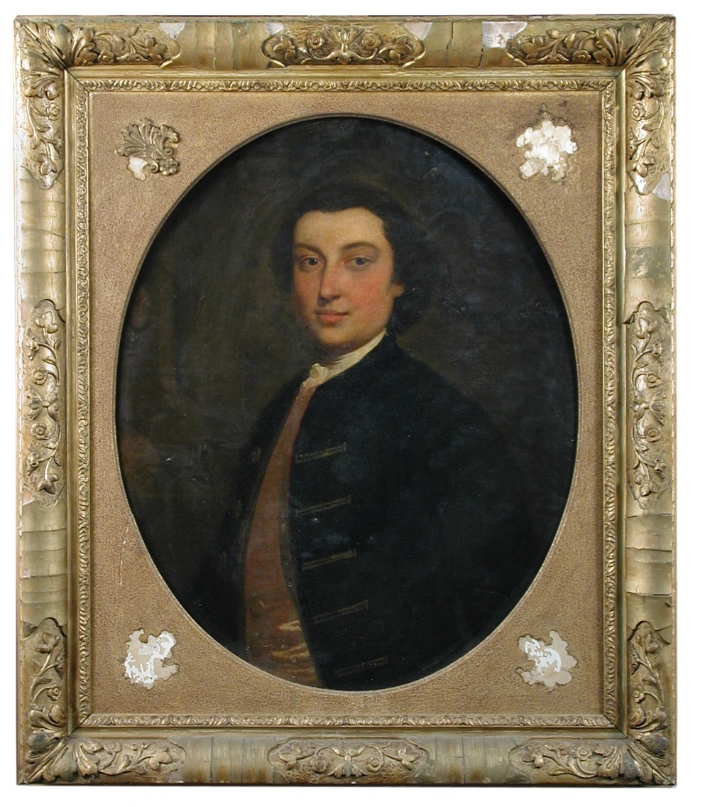 Attributed to edward penney ra british 1714 1791 portrait of henry